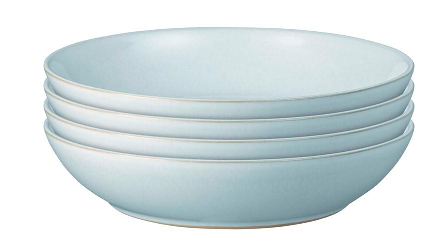 Denby Intro Pasta Set Pale Blue Set 4
