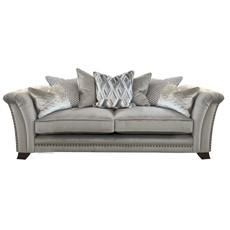 Cartier 3 Seater Pillow Back Sofa