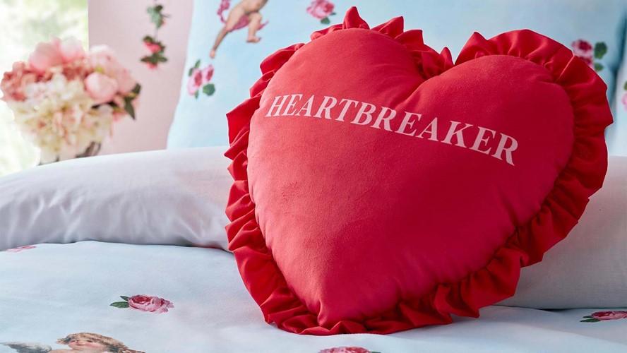Skinny Dip Heartbreaker Cushion