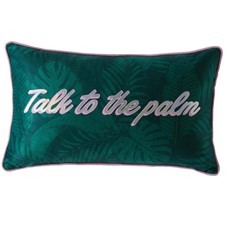Skinny Dip Talk to The Palm Cushion