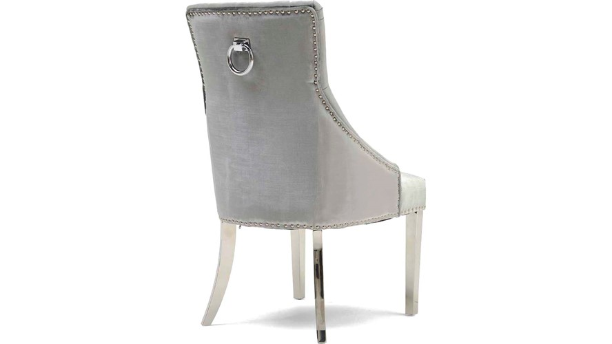 Scarlett Dining Chair- Pewter