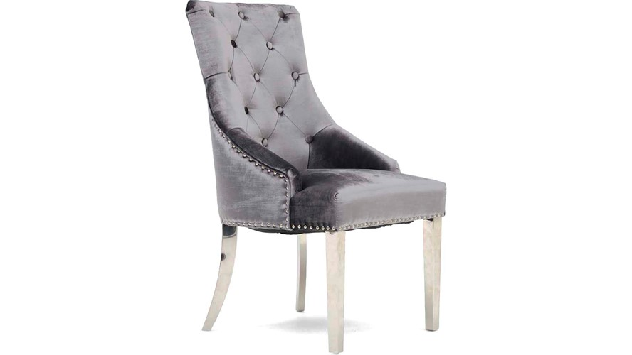 Scarlett Dining Chair - Charcoal