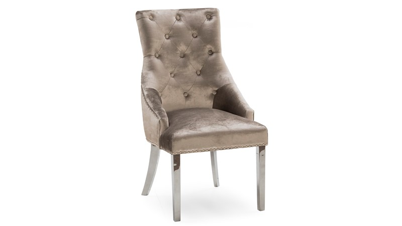 Scarlett Dining Chair - Champagne