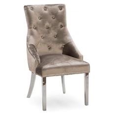Valentina Scarlett Dining Chair - Champagne