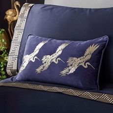 Laurence Llewelyn-Bowen Qing Cushion Navy