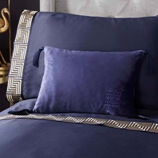 Laurence Llewelyn-Bowen Monoglam Cushion Navy