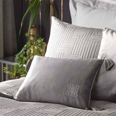 Laurence Llewelyn-Bowen Monoglam Cushion Silver