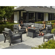 Corner Garden Set with Gas Lift Table