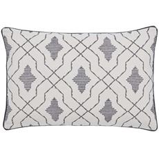Dhaka Cushion Charcoal