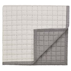 Dhaka Quilted Throw Charcoal