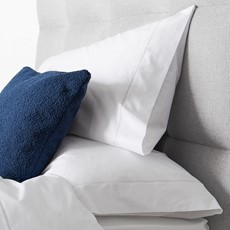 Sterling Home Savile Housewife Pillowcase White Cord