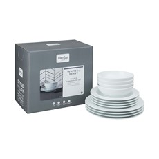 White by Denby 12 Piece Dinner Set