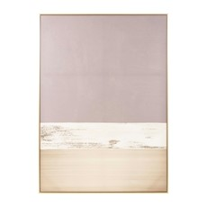 Grey Goldfoil Astratto Canvas Wall Art
