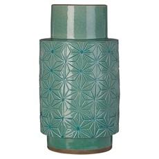 Earthenware Vase Turquoise