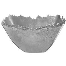 Square Alum Silver Bowl