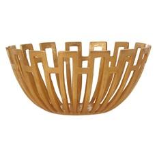 Large Gold Bowl Alum