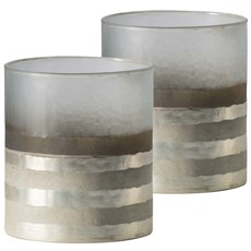 Candle Holder - Champagne