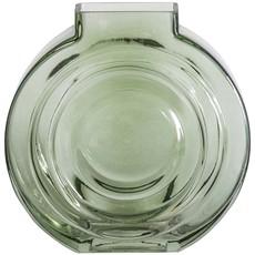 Round Green Glass Vase