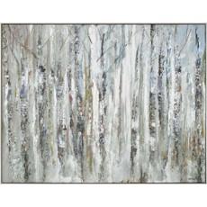 Sunlit Birch Canvas