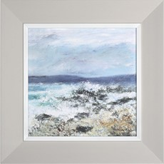 Into The Blue Framed Print