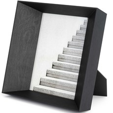 Large Lookout Photo Frame - Black