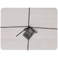 Naturals Grey Wood Veener Placemats - Set of 4