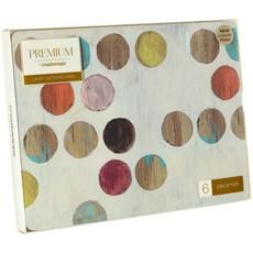 Retro Spot Placemats - Set of 6