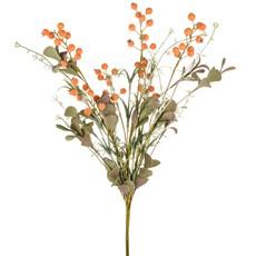English Heath Berry Leaf - Orange