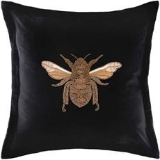 Layla Black Cushion