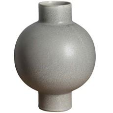 Organic Shaped Grey Vase