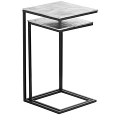 Farrah Collection Silver Nest of Tables