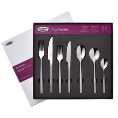 Stellar Rochester Shine Cutlery - 44 Piece Set