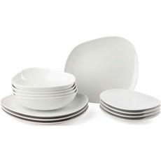 Villeroy & Boch Organic White 12 Piece Dinner Set