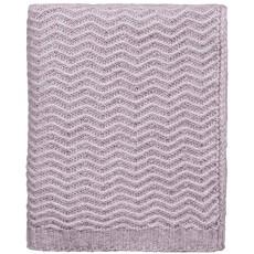 Calm Knitted Throw - Pink