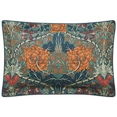 Honeysuckle & Tulip Mulberry & Teal Oxford Pillowcase
