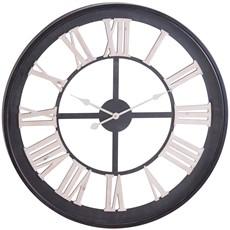 Black Framed Skeleton Clock