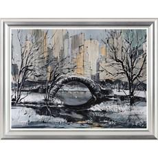 New York Central Park View Framed Print
