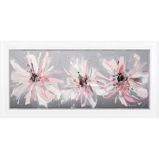 Pink Daisies Framed Print