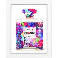 Perfume Bottle Framed Print