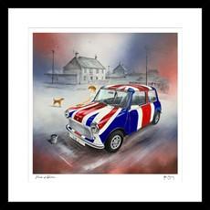 Pride of Britain Framed Print