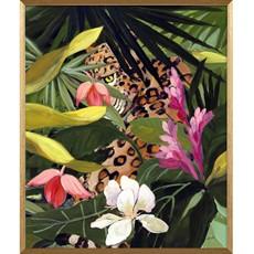 Hidden Jungle II Framed Print