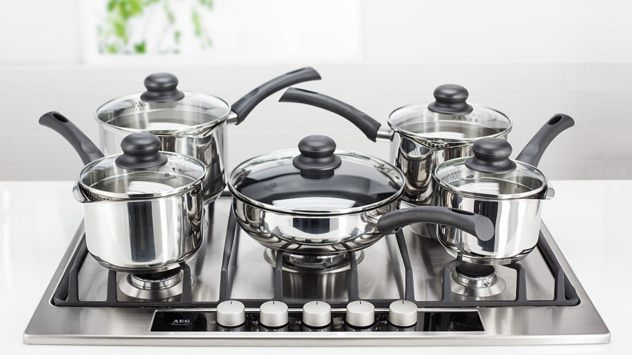 Judge Vista Non Stick 5pce Set with Draining Lids
