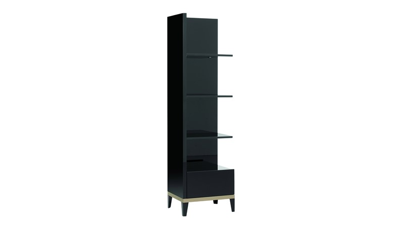 Barletta Left Corner Bookcase