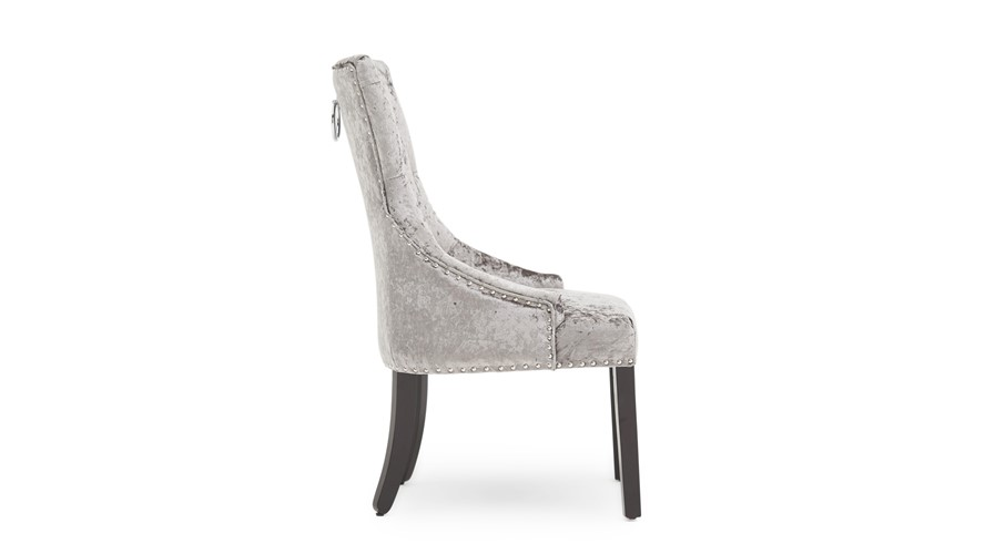 Voltaire Dining Chair - Silver