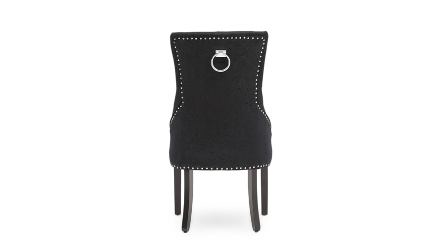 Voltaire Dining Chair - Black