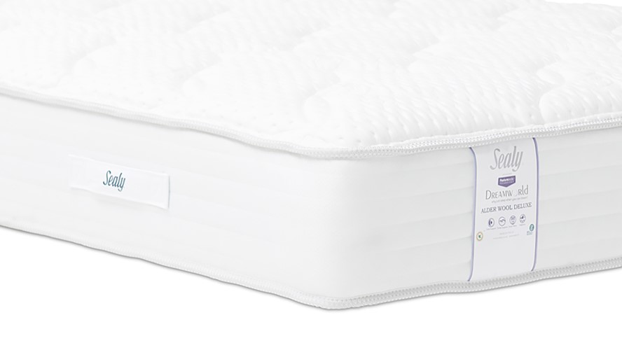 Sealy Alder Wool Deluxe Mattress