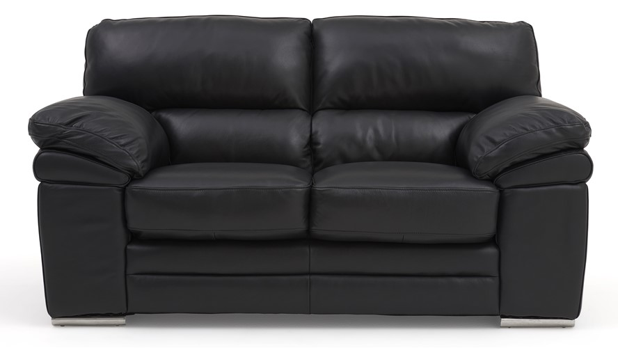 Aldo Leather 2 Seater Sofa