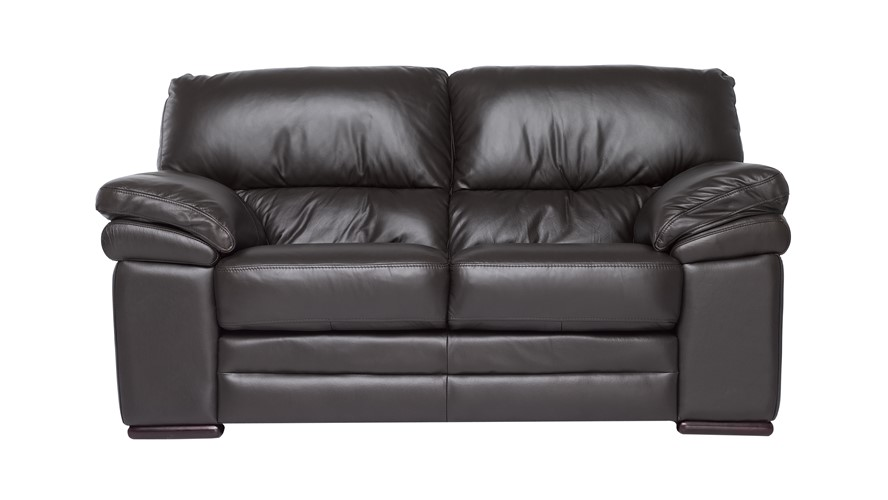 Aldo Leather 2 Seater Recliner Sofa