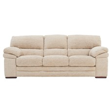 Aldo Fabric 3 Seater Sofa