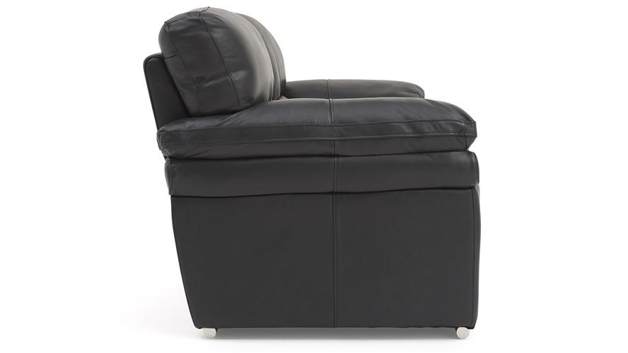 Aldo Leather 3 Seater Sofa